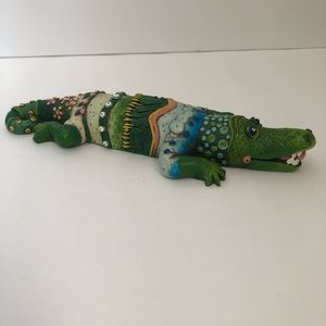 Copper Honey Farms Accents - Copper Honey Farms Resin Alligator Figurine